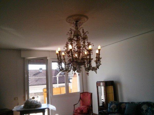 trasloco Conegliano lampadario Murano