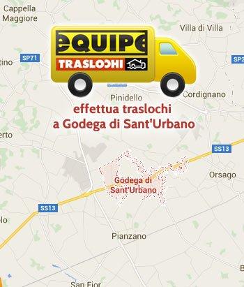 Equipe traslochi effettua traslochi a Godega di Sant'Urbano