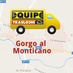 traslochi a Gorgo al Monticano