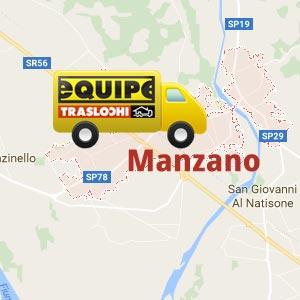 traslochi Manzano, trasloco a manzano, traslocare a Manzano,