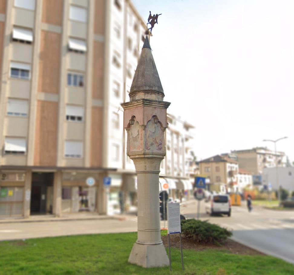 Pordenone, Colonna di Beorchia - Tesori da Scoprire a Pordenone